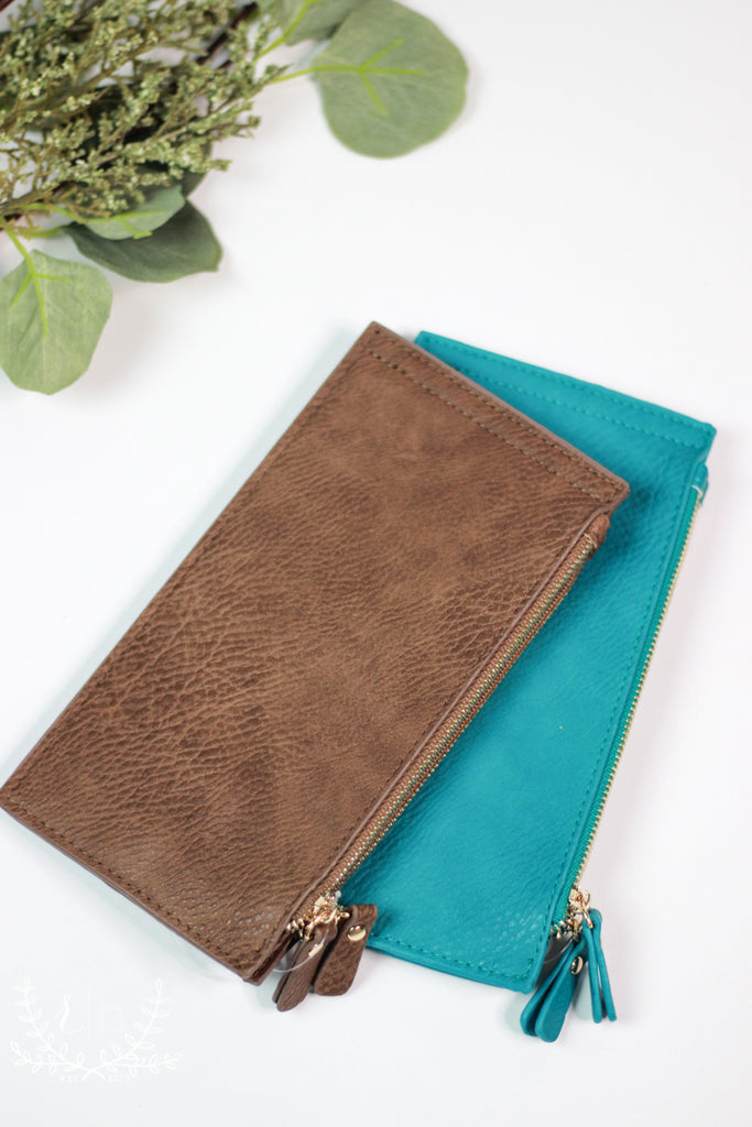 Zipper Long Fold Wallets