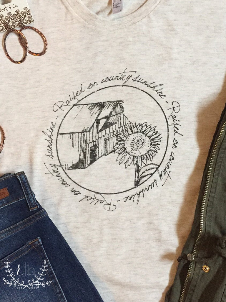 Raised On Country Sunshine Tee