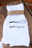 Hello Darlin' Whisk Flour Sack Towel