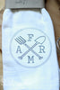 FARM graphic flour sack towel