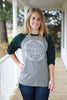 Go Tell It On The Mountain Raglan Tee