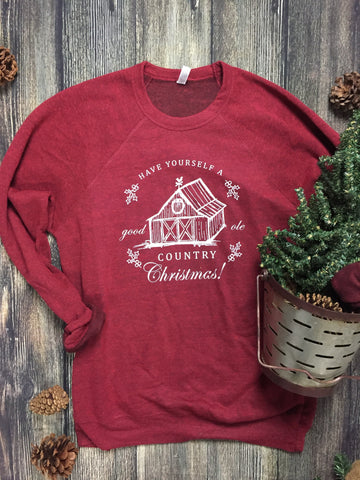 Have Yourself A Good Ole Country Christmas Sweater - RH Label