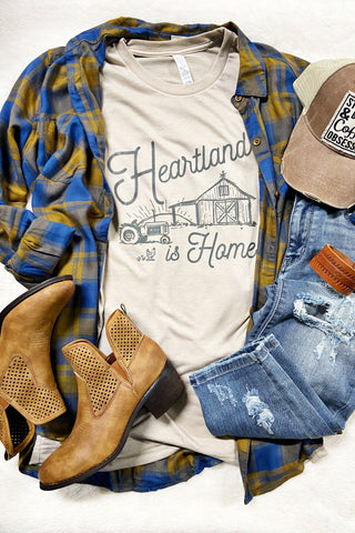 Heartland is Home - Rustic Honey Graphic Tee