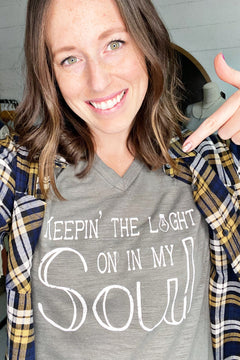 Keepin' The Light On In My Soul Tee