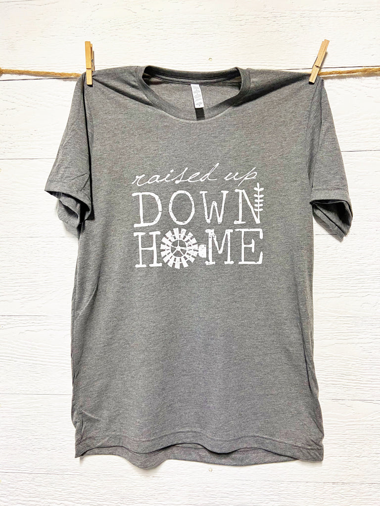 Raised Up Down Home Tee By Rustic Honey
