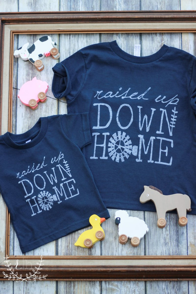 KIDS! Raised Up Down Home Tees