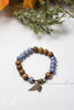Handmade Wood Bead Bracelet by Liz Cole
