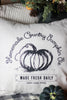 Pumpkin Pie Pillow Cover