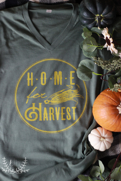 Home For Harvest - Rustic Honey Tee