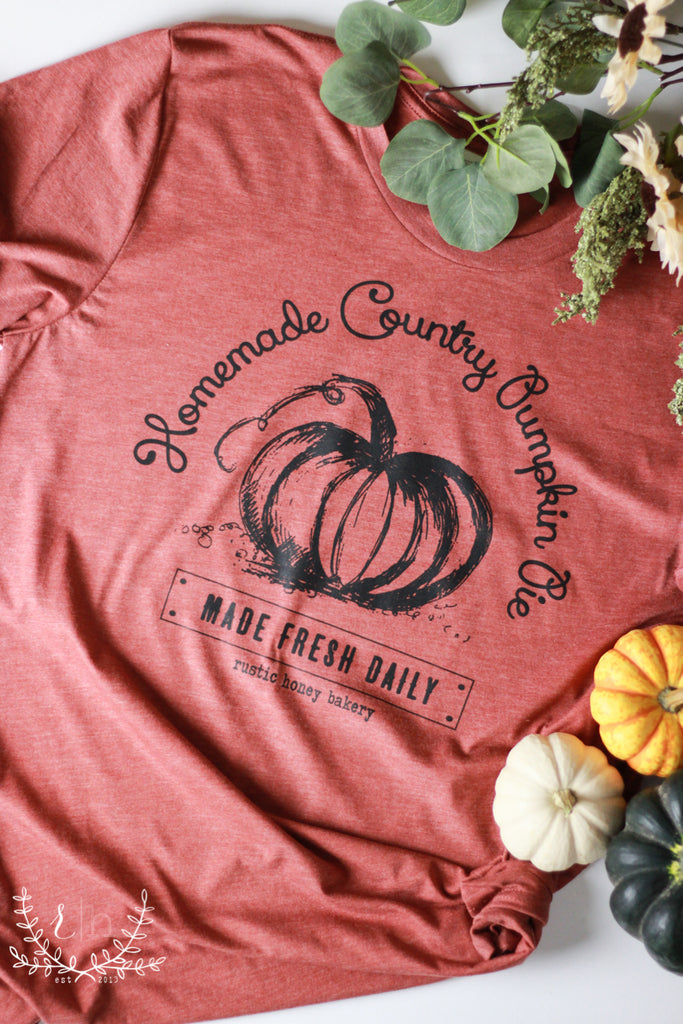 Country Pumpkin Pie Tee - RH Label