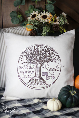 Roots Run Deep Pillow Cover
