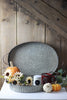 Metal Oval Serving Trays