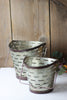Farmhouse Olive Buckets