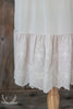 Light Taupe Embroidered Lace Slip Extender