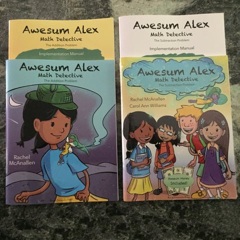 Awesum Alex All Four Books