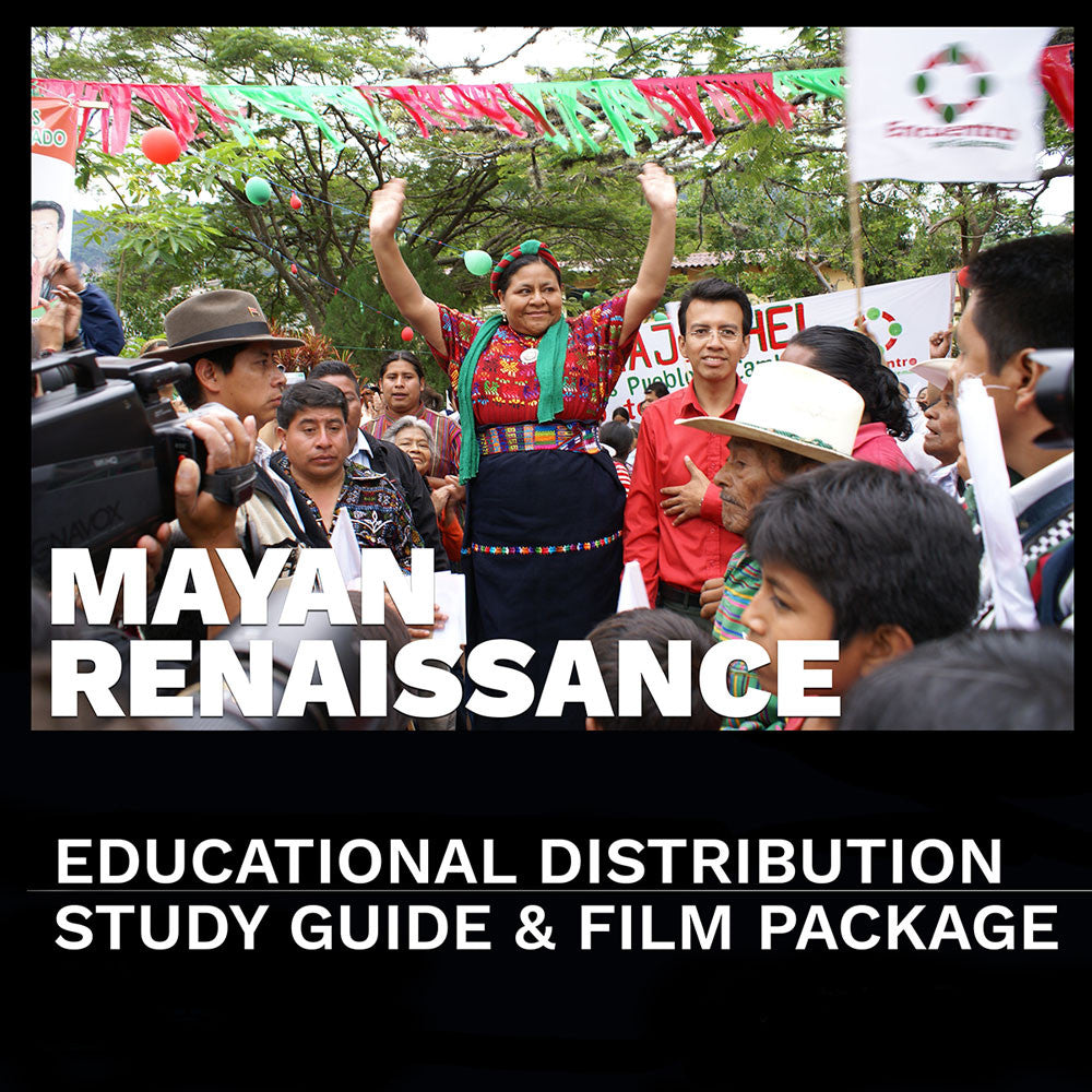 """Mayan Renaissance"" Educational Distribution License with DVD and Study Guide"
