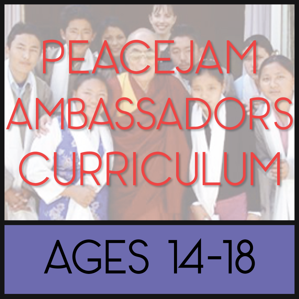 PeaceJam Ambassadors Curriculum - Online Training