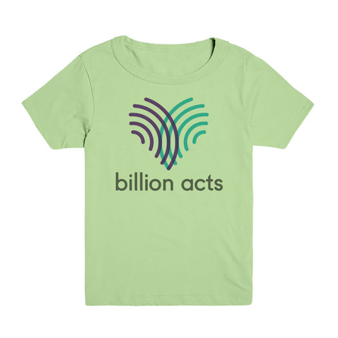 Billion Acts Kids Tee
