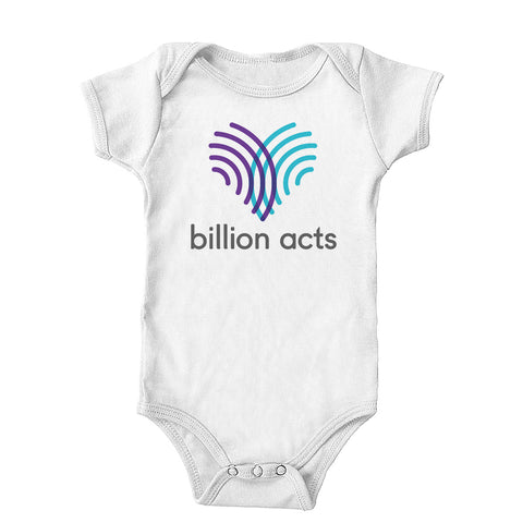 Billion Acts Onesie