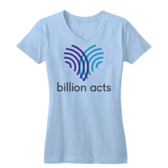 Billion Acts Women's V-neck Tee