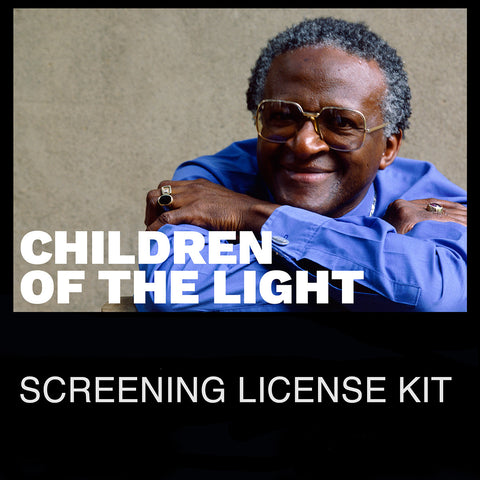 """Desmond Tutu: Children of the Light Screening"" License"