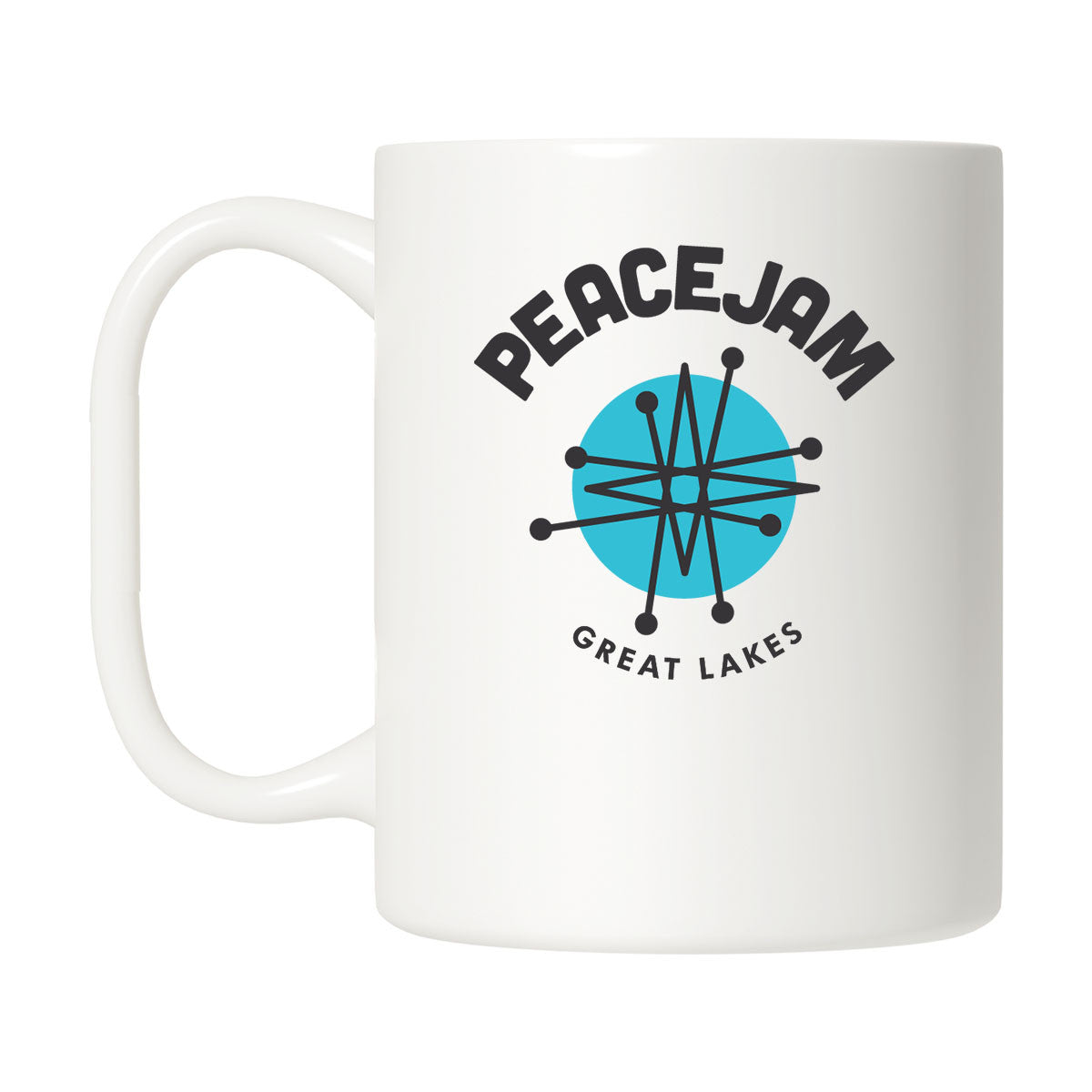 Great Lakes Circle Mug