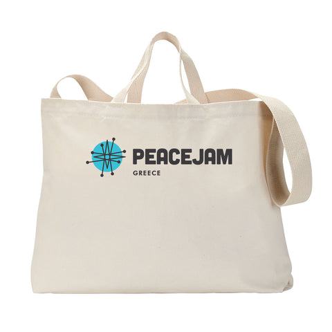 Greece Horizontal Tote Bag