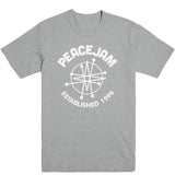 White Logo Men's Tee