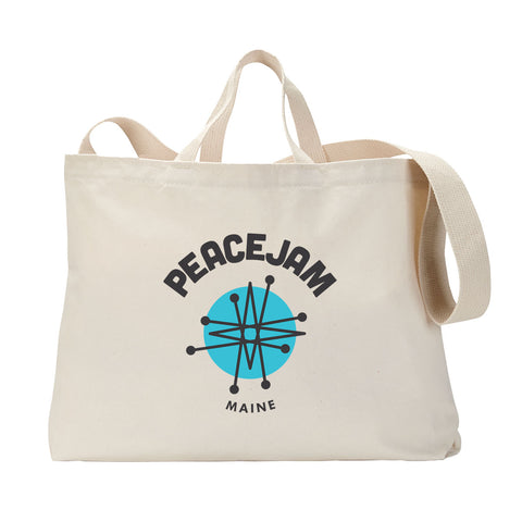 Maine Circle Tote Bag