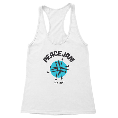 Maine Circle Women's Racerback Tank
