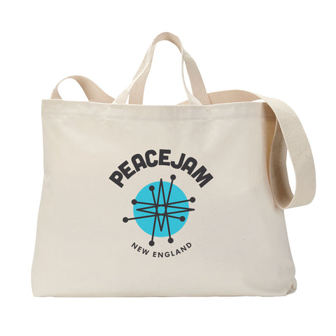 New England Circle Tote Bag