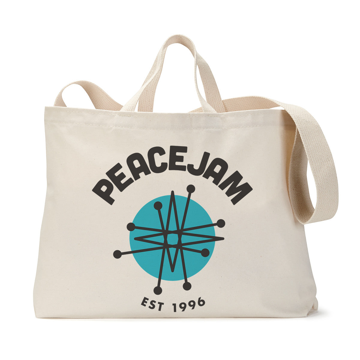 PeaceJam Logo Tote Bag