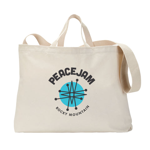 Rocky Mountain Circle Tote Bag
