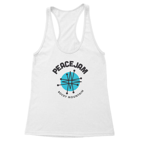 Rocky Mountain Circle Women's Racerback Tank