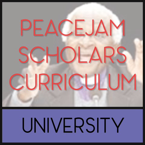 PeaceJam Scholars Curriculum - Online Training