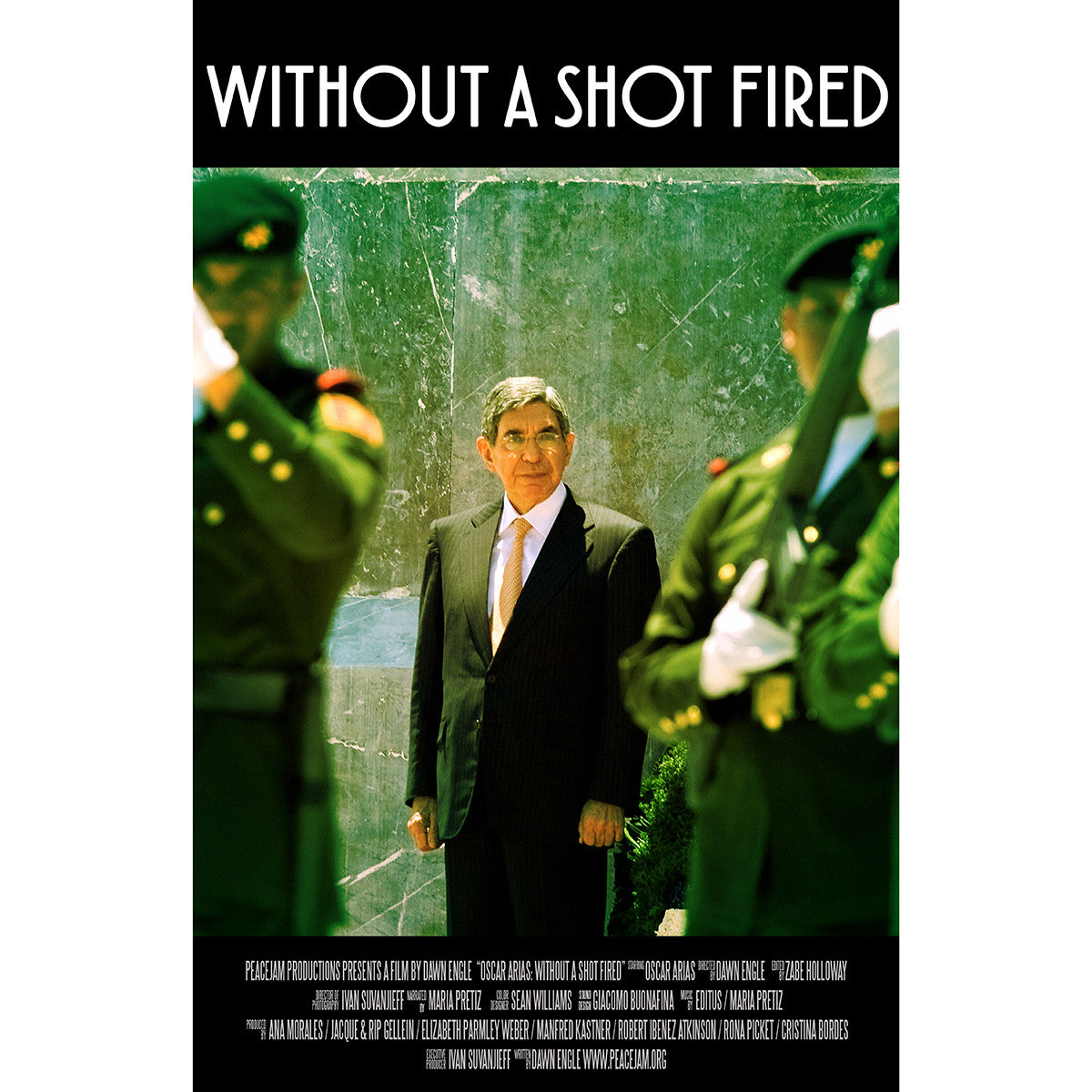 """Oscar Arias: Without a Shot Fired"" DVD [English]"
