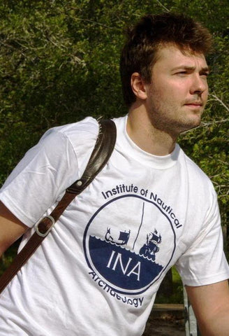 Classic INA logo T-shirt with short sleeves