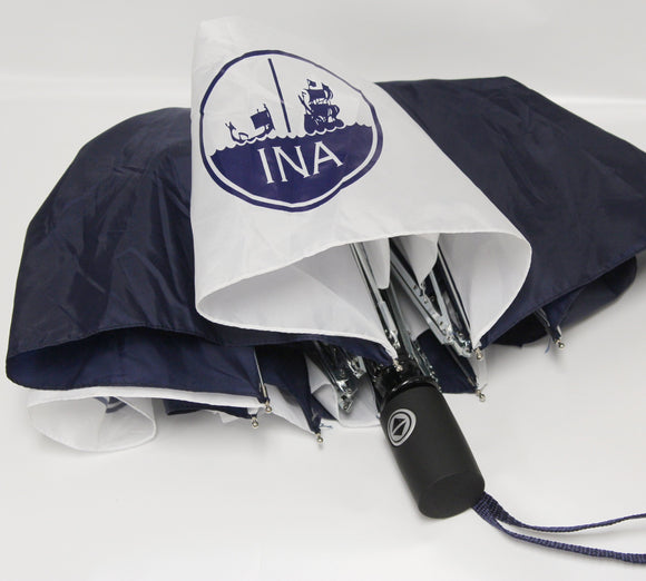 INA Logo TOTES Umbrella