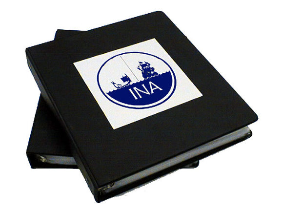 INA Logo Decal