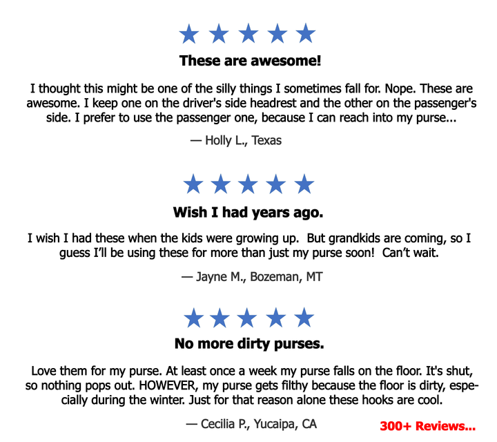 Handy Hooky Five Star Reviews