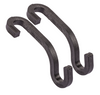 Premium Purse Hooks - Pack of 2 (Black)