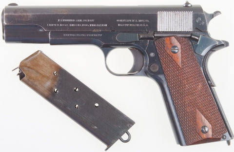 colt 1911 first year production historic investments