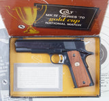 Colt, Gold Cup National Match, Box. #A-1028