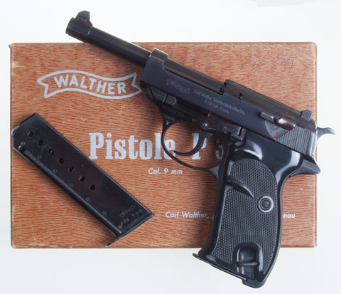 Walther P38, High Polish, Boxed with Accessories.