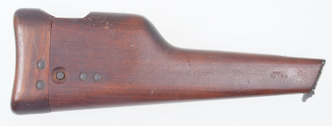 Inglis Shoulder Stock, Dated 1944.