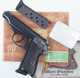 Walther PP, Early Wartime Commercial, As New in Box. #A-1161
