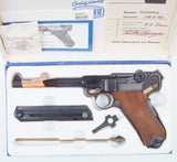 Mauser, InterArms Luger, P08, as NIB. #A-1179