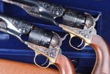 Colt 1860 Army, Factory Cased Set, Documented.