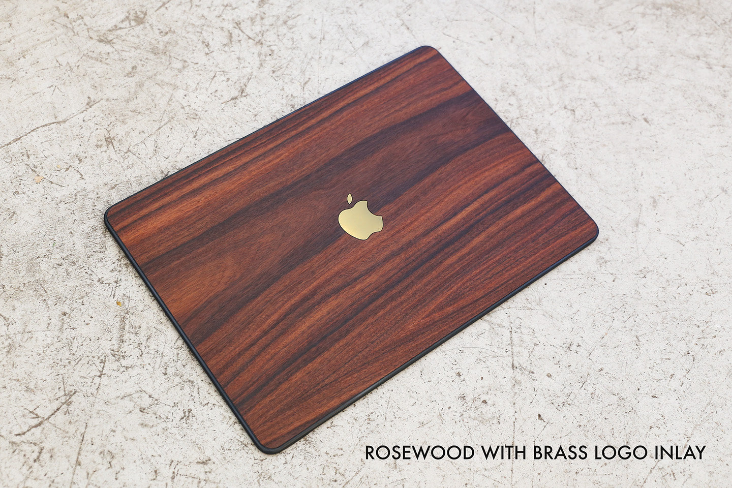 Real Wood MacBook Case -- Walnut