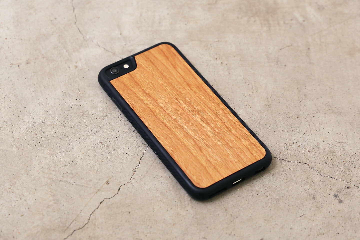 Real Wood iPhone Case Cherry 5 5S 6 6S 6 Plus 7